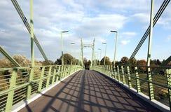 Puente peatonal Foto de archivo libre de regalías