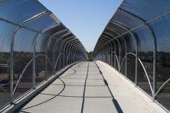 Puente peatonal Imagenes de archivo