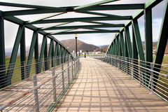 Puente peatonal Imagen de archivo