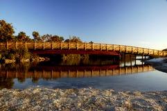 Puente peatonal Fotos de archivo