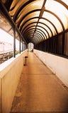 Puente peatonal Fotografía de archivo