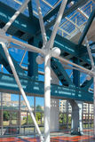 Puente peatonal de Bogdan Khmelnitsky (Kievsky) (20 Imagenes de archivo