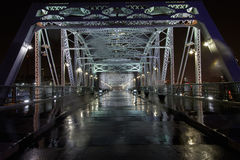 Puente peatonal Nashville Fotos de archivo