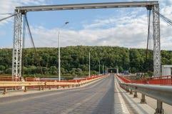 Puente pontón Fotografía de archivo libre de regalías