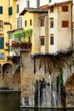 Puente Ponte Vecchio de Anciant en Florencia Fotografía de archivo libre de regalías