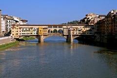Puente Ponte Vecchio en Florencia, Italia Imagenes de archivo