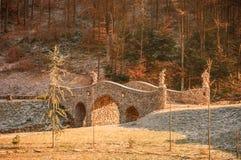 Puente por la mañana Fotos de archivo libres de regalías