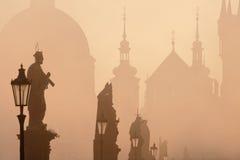 Puente Praga de Charles imágenes de archivo libres de regalías