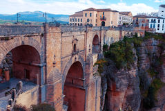 Puente Puente Nuevo en rondó Imagenes de archivo