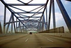 Puente puesto en contraste Imágenes de archivo libres de regalías
