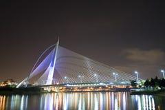Puente Putrajaya del milenio imagen de archivo libre de regalías