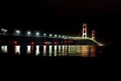 Puente que brilla intensamente Fotografía de archivo