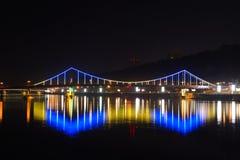 Puente que brilla intensamente Imágenes de archivo libres de regalías