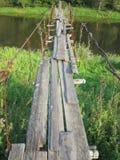 Puente quebrado Fotografía de archivo libre de regalías