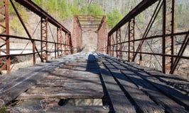 Puente quemado del molino Fotografía de archivo libre de regalías