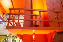 Puente raillway del hierro pesado Fotografía de archivo libre de regalías