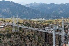 Puente real Colorado de la garganta imágenes de archivo libres de regalías