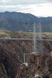 Puente real Colorado de la garganta foto de archivo libre de regalías