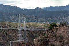 Puente real Colorado de la garganta imagen de archivo