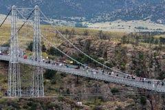 Puente real Colorado de la garganta fotografía de archivo
