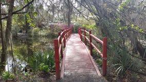 Puente rojo Fotografía de archivo