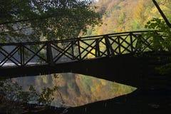 Puente romántico Imagen de archivo