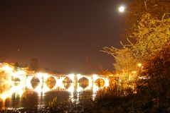 Puente Romano arkivbilder