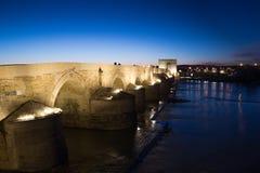 Puente romano de Córdoba Imagenes de archivo