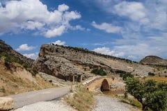 Puente romano en Cendere Imágenes de archivo libres de regalías