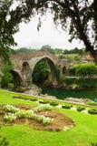 Puente romano w Cangas De Onis obraz royalty free