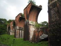 Puente roto Longteng Fotografía de archivo