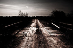Puente rural Imagen de archivo libre de regalías