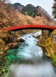 Puente sagrado de Nikko, Japón imagenes de archivo