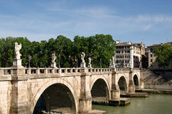 Puente Sant'Angelo Imagen de archivo libre de regalías