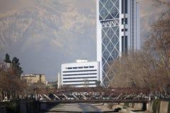 Puente, Santiago Foto de archivo libre de regalías