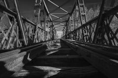 Puente-Schwarze Stockfotografie