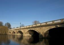 Puente serpentino, Hyde Park Imagen de archivo libre de regalías