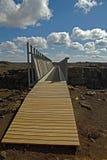 Eurasiático de Alfagja - puente americano Fotografía de archivo