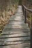 Puente sin el río Imagenes de archivo