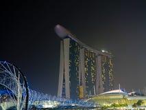 Puente Singapur de la hélice Imagen de archivo