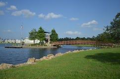 Puente sobre Imagen de archivo