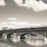 Puente sobre drava Fotos de archivo libres de regalías