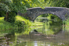 Puente sobre el canal de Neath Fotografía de archivo