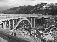 Puente sobre el lago Donner Imágenes de archivo libres de regalías