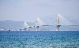 Puente sobre el océano Foto de archivo