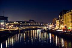 Puente sobre el río Foto de archivo libre de regalías
