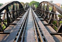 Puente sobre el río Kwai Fotos de archivo