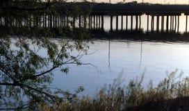 Puente sobre el río Snake, Burley Idaho Imagenes de archivo