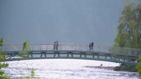 Puente sobre el r?o almacen de video