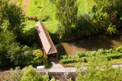 Puente sobre el Saale Fotografía de archivo libre de regalías